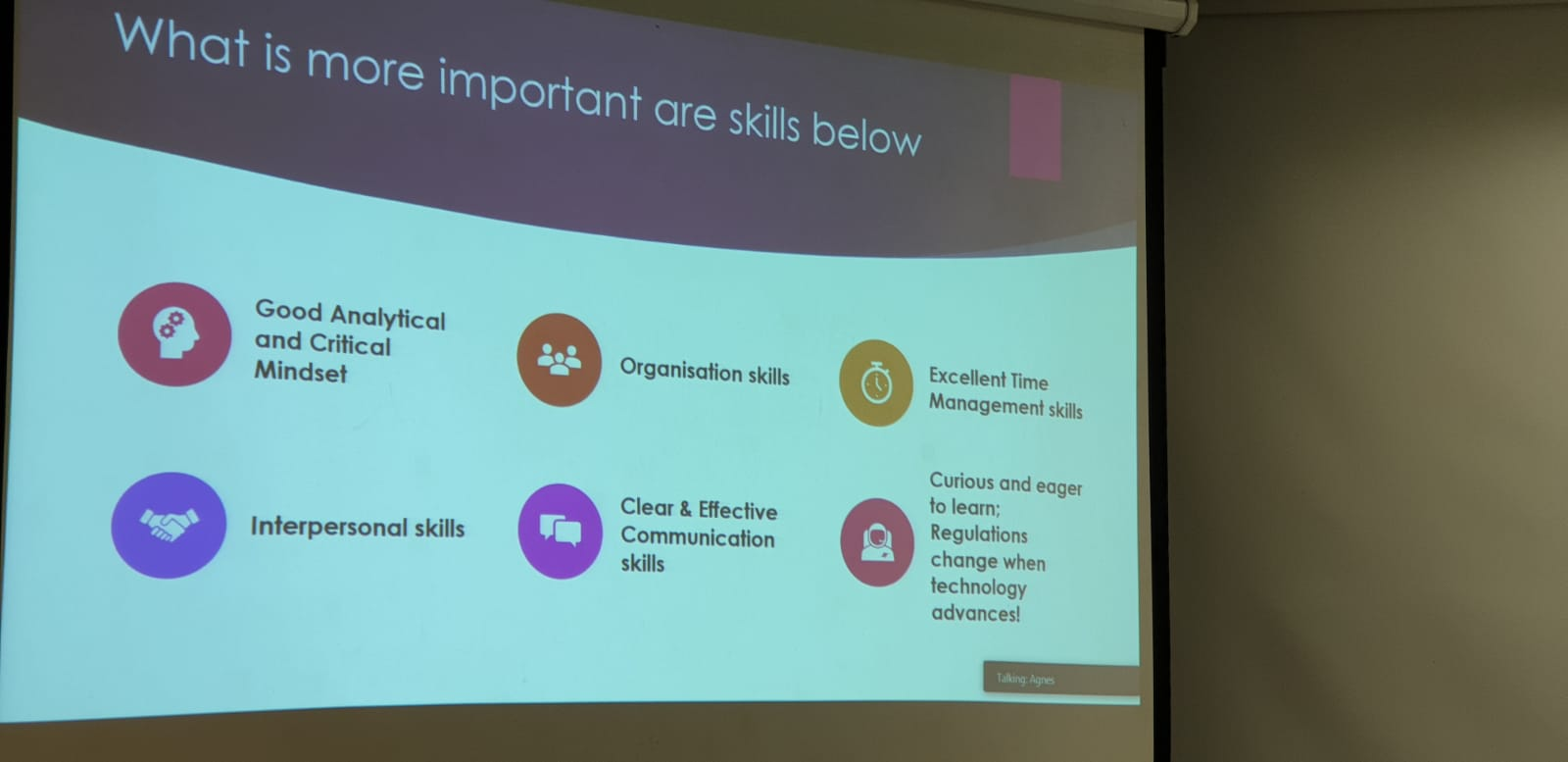 Students were given a snapshot of the skills needed in the workforce.jpeg